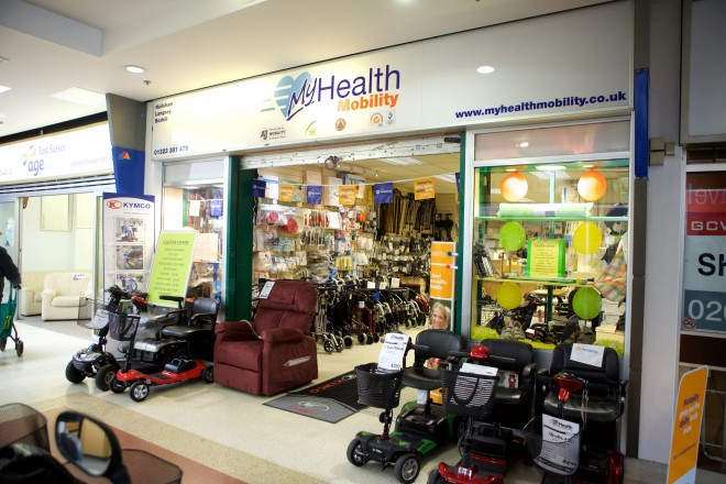 MyHealth Mobility Showroom Eastbourne