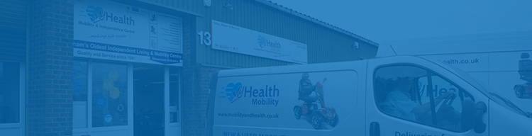 Visit our mobility shops in Hailsham, Bexhill-on-Sea or Eastbourne