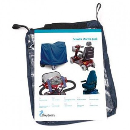 Mobility scooter storage pack at MyHealth Mobility